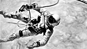 The first US spacewalk